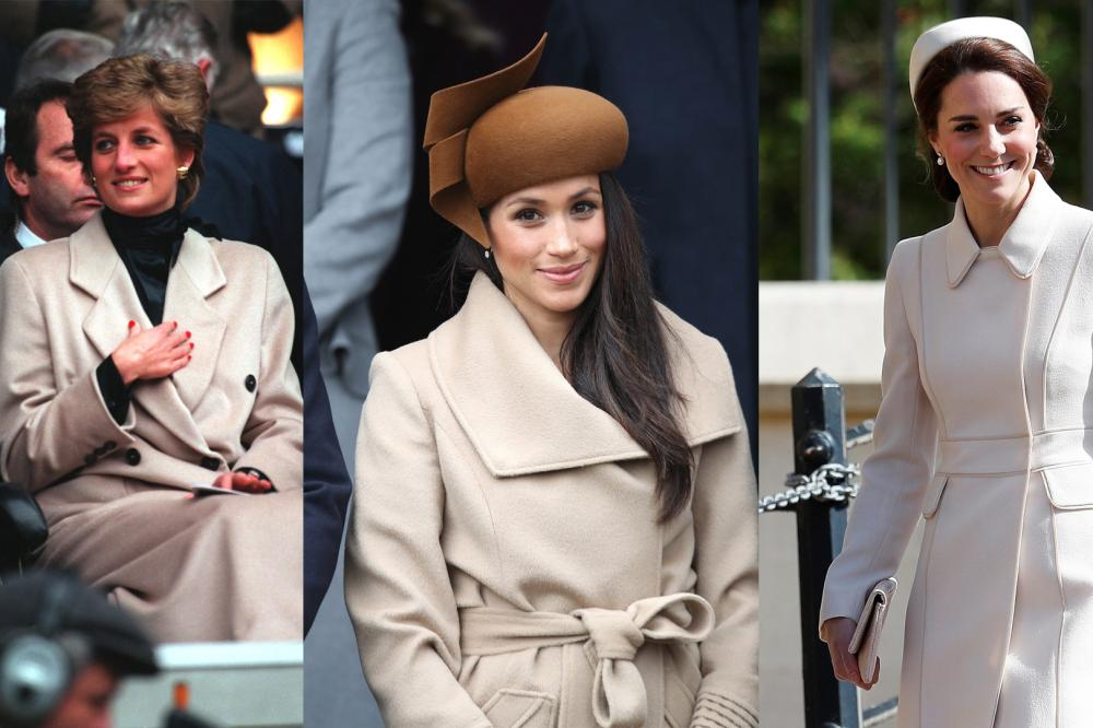 All The Times Meghan Markle And Kate Middleton S Outfits Channelled Princess Diana S Vogue Australia