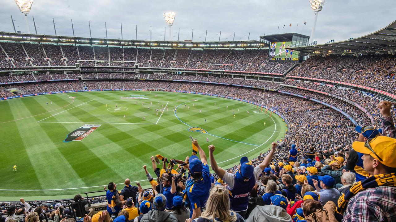 The AFL Grand Final will be played at the MCG until at least 2057. Picture: Jason Edwards