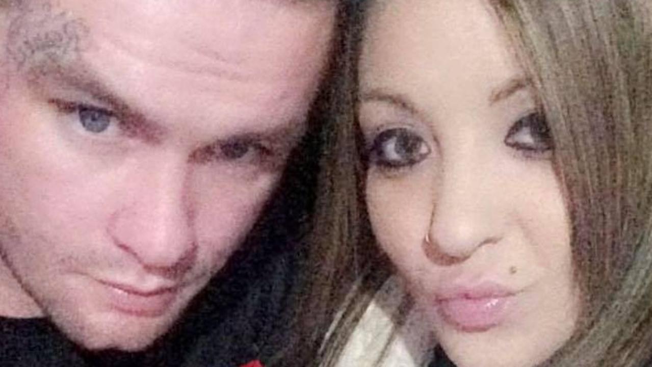 Shane Brown and his partner Bianca Kerr.
