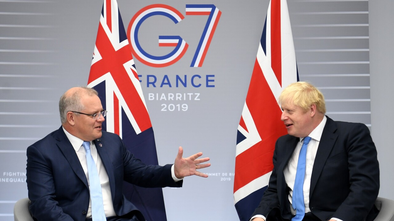 The United Kingdom 'welcomes and encourages' Australia's new green energy funding