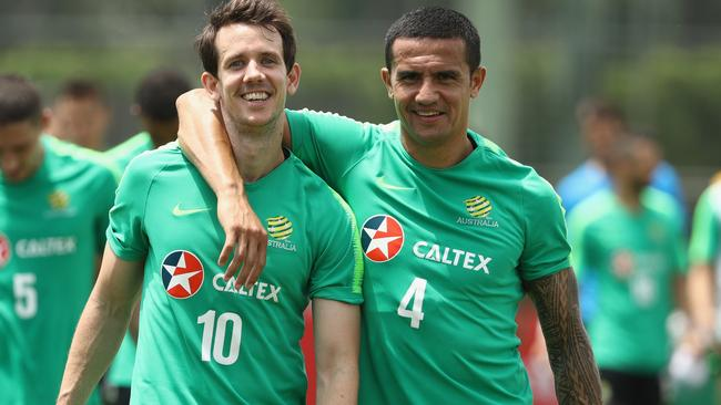 Will Tim Cahill get on the park?