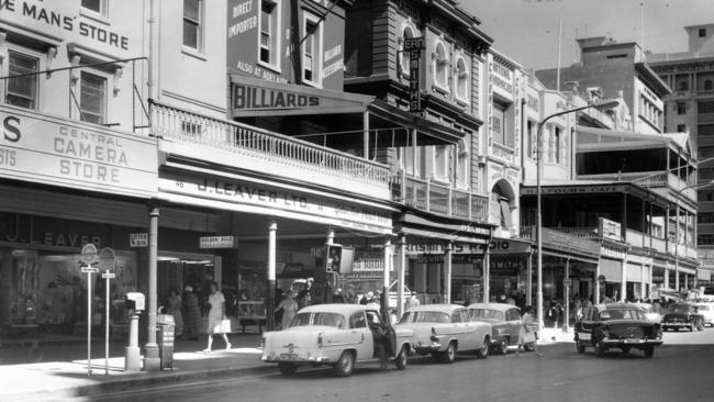 King William Street, Adelaide in 1960.