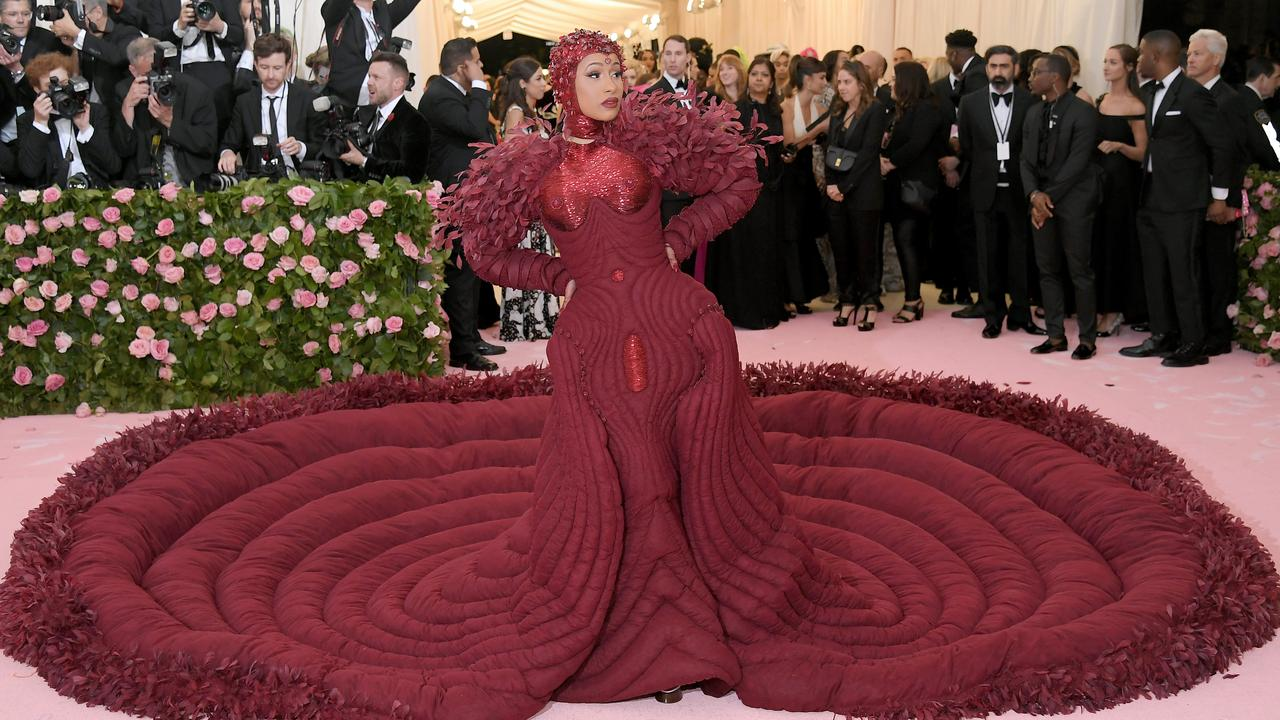 Cardi at this year's Met Gala. Picture: Neilson Barnard/Getty Images