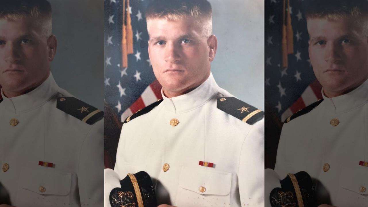 Tony Bobulinski's navy photo. Picture: Fox News