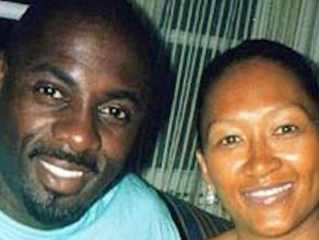 Madly in love ... Idris Elba and Sonya Hamlin were briefly married. Picture: Supplied