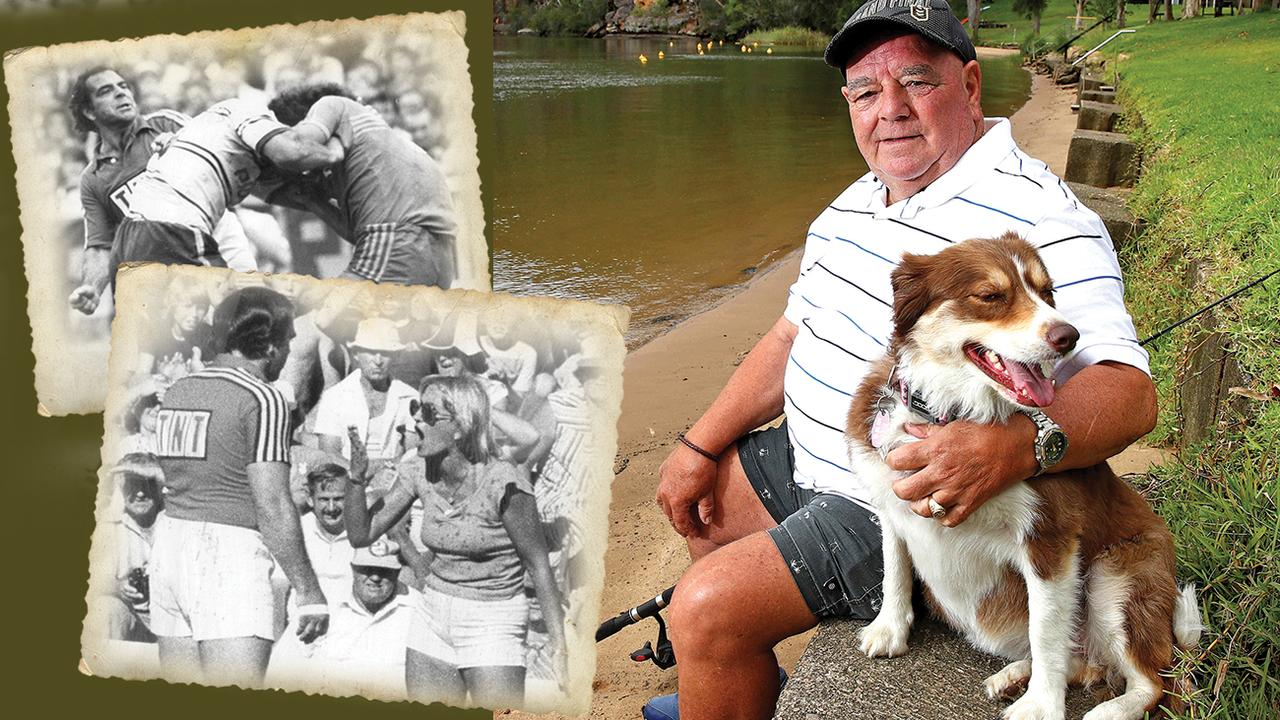 Greg 'Hollywood' Hartley has traded in his Sydney life for some peace and quiet on the Hawkesbury.