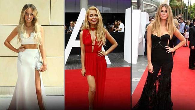 ARIAS 2014: Tight and tummy-baring fashion