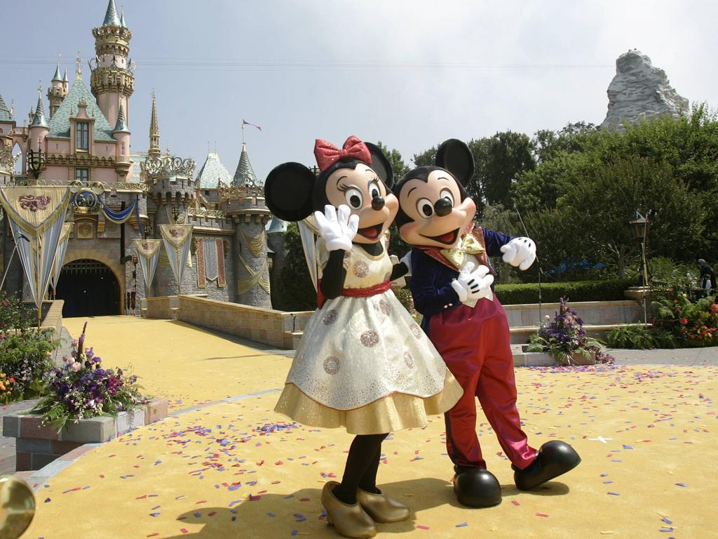 Disney has temporarily closed theme parks in California because of the coronavirus outbreak. Picture: AFP