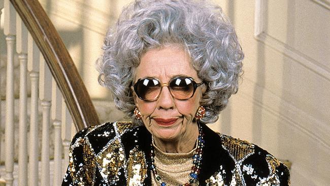 Ann Morgan Gilbert as Grandma Yetta on The Nanny.