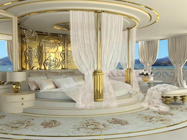 Its interior sure is lavish. Picture: La belle/Exclusivepix