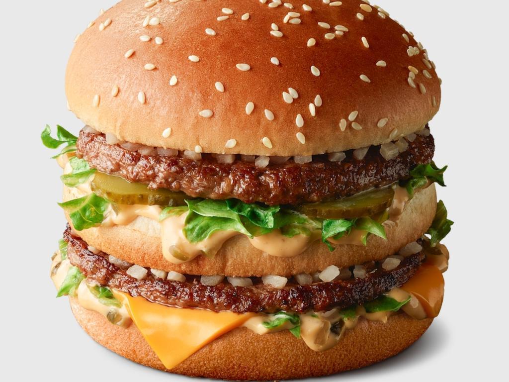 Big Mac from McDonald's , Australia . Picture: McDonald's