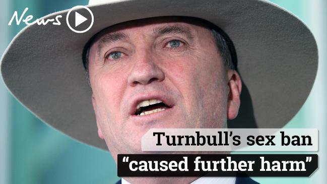 Barnaby's extraordinary press conference