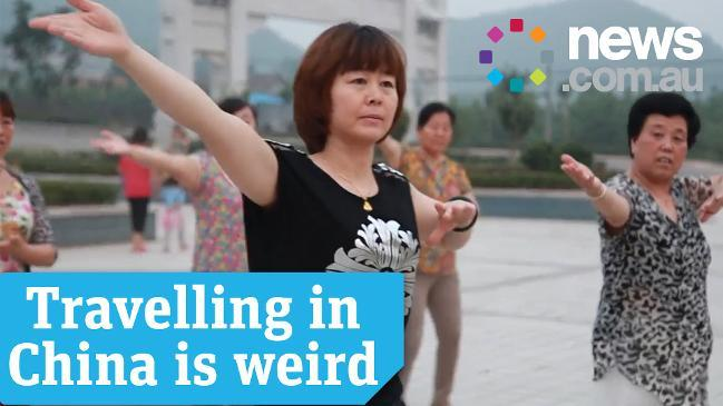 TRAVELLING IN CHINA IS WEIRD