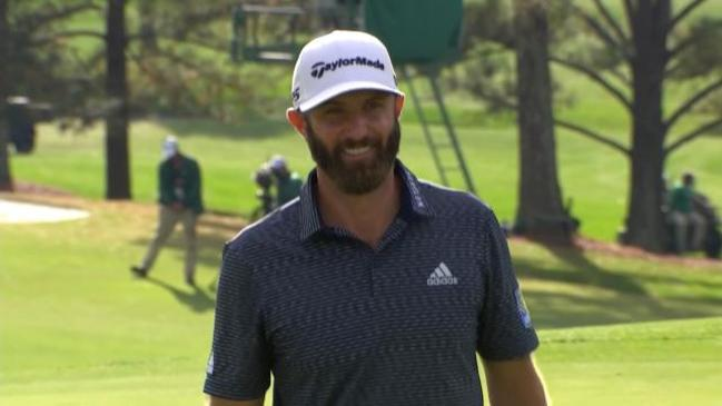 Dustin Johnson claims maiden Masters title