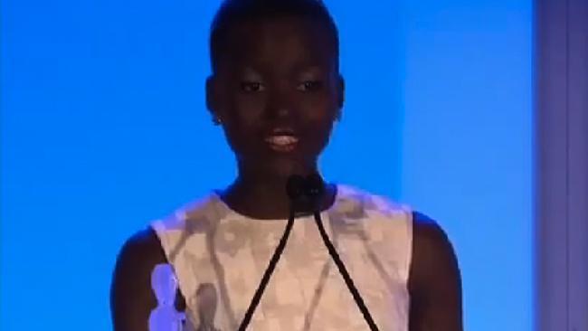 Oscar Winner Lupita Nyong'o on true beauty