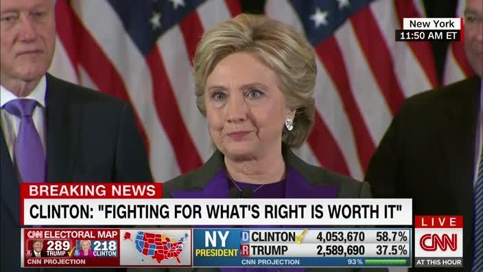 Clinton to all girls: 'Don't doubt you are valuable'