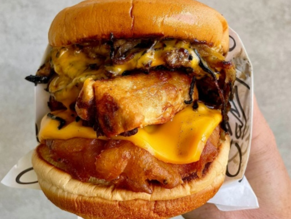 Controversial burger takes out winning title
