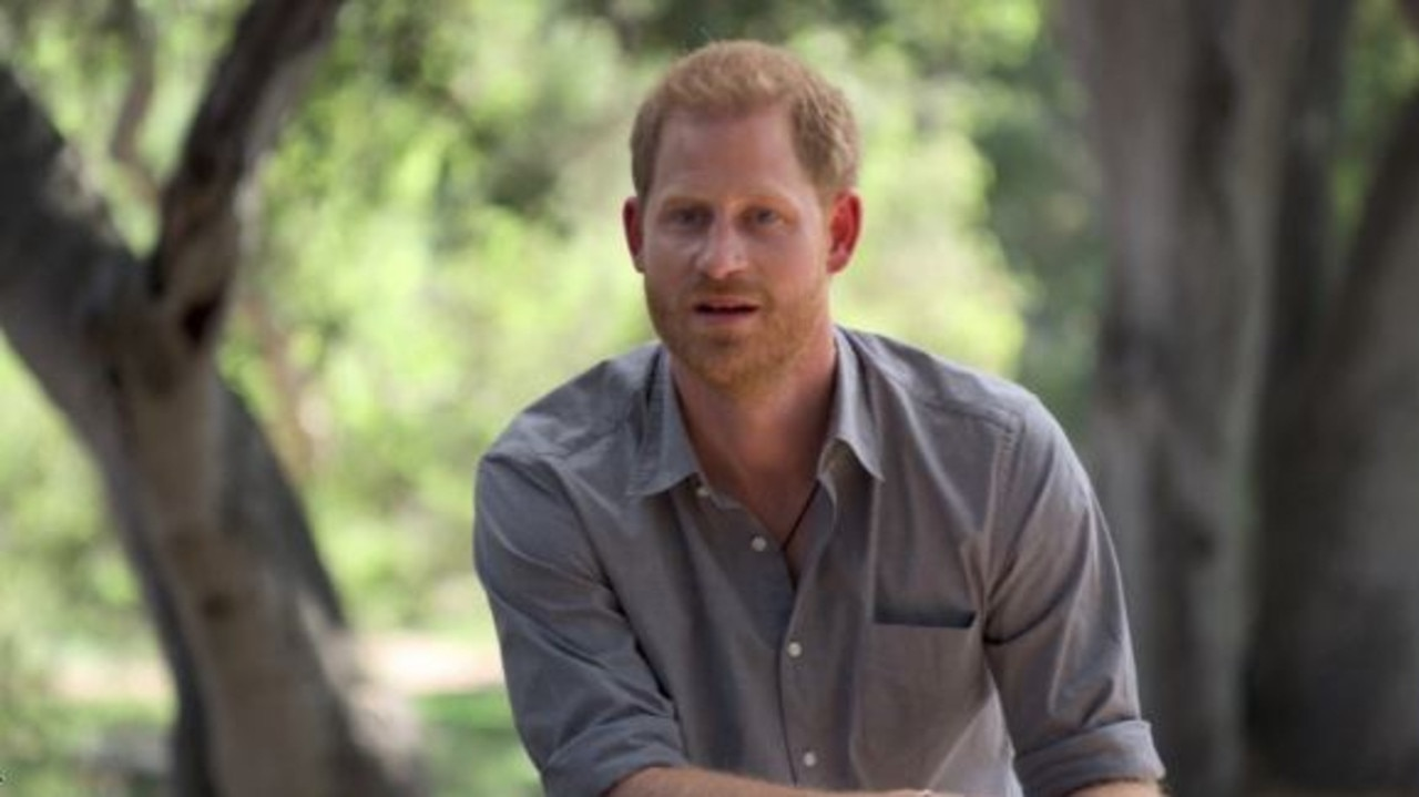 Prince Harry made a series of bombshell claims in The Me You Can't See. Picture: Apple TV