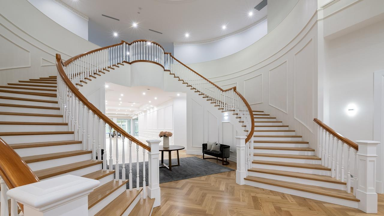 How's that for a staircase? Picture: Williams Real Estate.