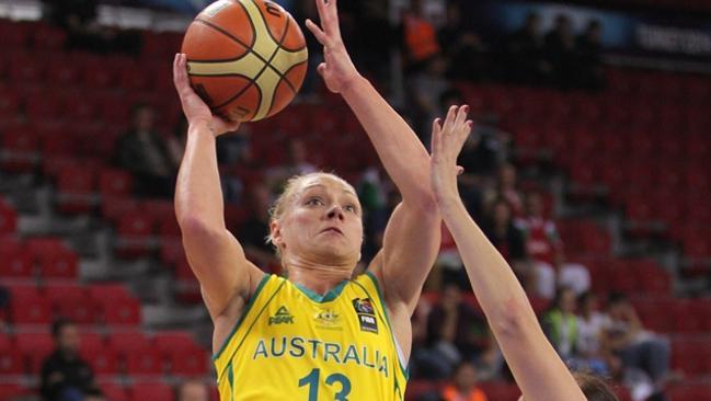 Opals v Belarus basketball world championship - Erin Phillips