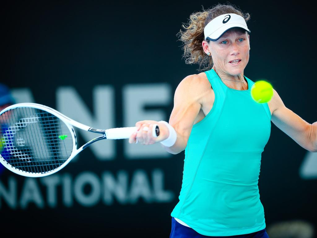 Stosur is a veteran of the tennis tour but hasn't stopped learning.