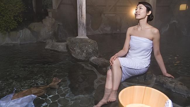How to survive a Japanese spa