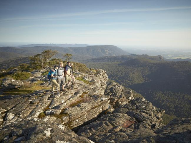 2. THE PLACE … FOR A DIGITAL DETOX: THE GRAMPIANS  Have you spent the past six months bingeing on Netflix and clocking up hour after hour on TikTok? Yep, us too. But now it's time to ditch the digital and reacquaint yourself with nature – for 13 whole days if you dare – because the complete Grampians Peaks Trail will be ready for summer hiking. The trail is already available as a 36km closed loop from Halls Gap, staying overnight at Bugiga Hiker Camp or Borough Huts Campground, but when the full 160km route is finished at the end of the year, it will take 13 days with 12 campsites along the way.