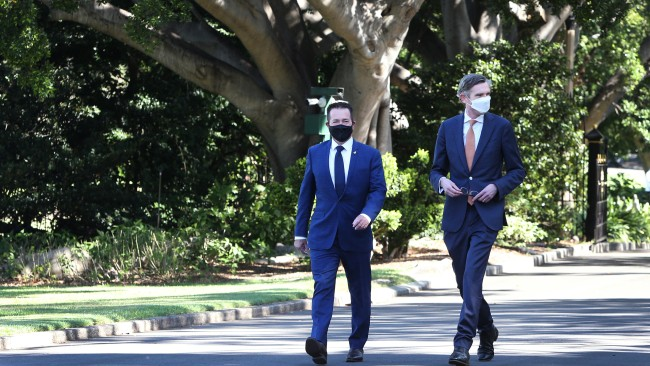 Deputy Premier Paul Toole has told Sky News Australia he and Premier Dominic Perrottet will tour regional NSW and meet with locals in the near future. Picture: by Lisa Maree Williams/Getty Images