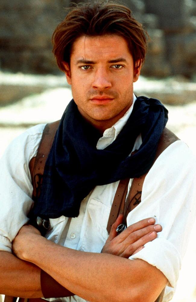 In the early to mid-2000s, actor Brendan Fraser was riding high off the success of box office hits like The Mummy. Picture: Supplied.