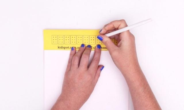 How to teach your kids to read and write braille | Video