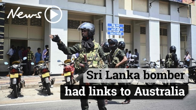 Sri Lankan suicide bombers had links to Australia