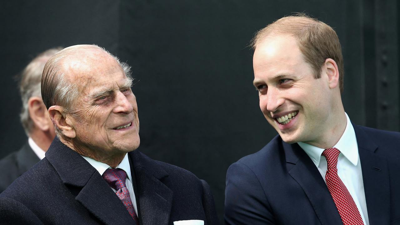 Prince William has shared some of his favourite memories of his late grandfather, Prince Philip. Picture: Chris Jackson/Pool/AFP