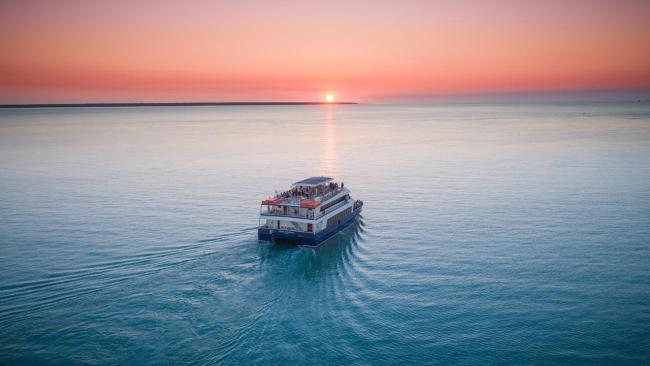 10/10 Darwin Harbour Cruises You can do a sunset cruise with the family and sail away on the harbour. See also:-Destinations to visit in the NT's Top End in 2021-New Uluru rule book: 14 things to know-20 incredible spots to swim in the NT-NT's most incredible national parks