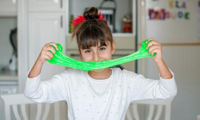 Kids @ Home: A guide to making superhero slime
