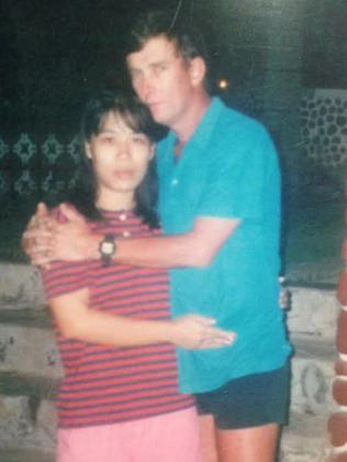 Graham and Rowena in 1994.