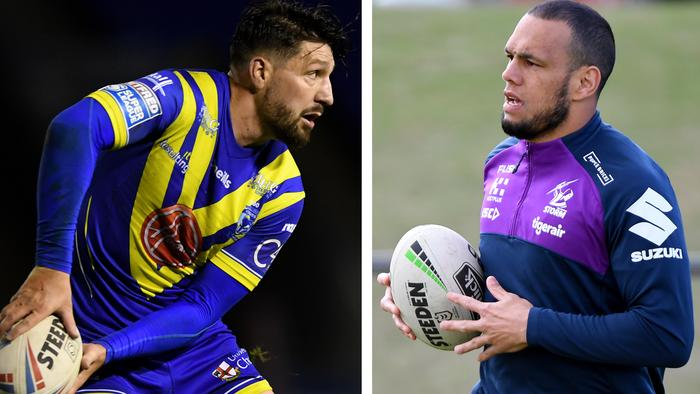 Gareth Widdop and Will Chambers want back in the NRL.