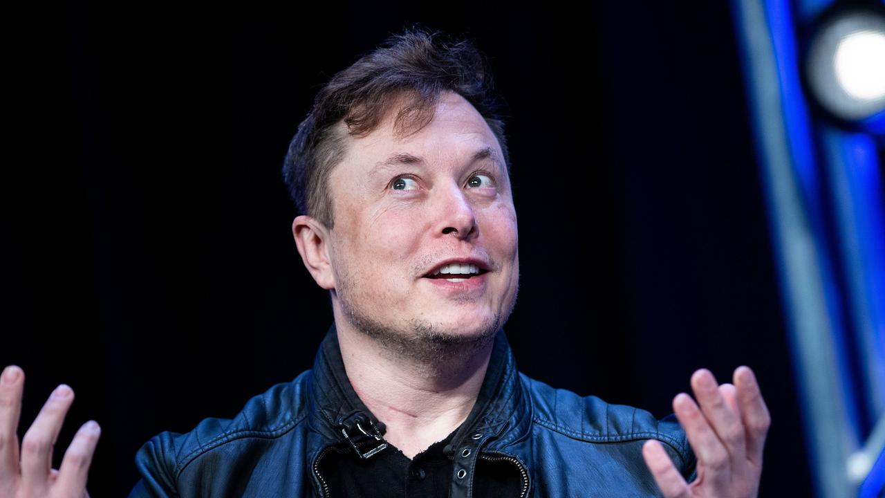 Tesla CEO spoke to his company's investors this morning. Picture: by Brendan Smialowski / AFP