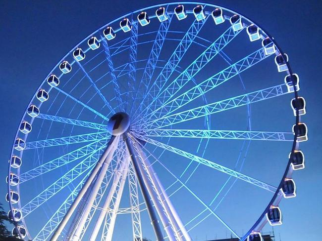 10. Take a twirl on the Wheel of Brisbane: this observation wheel offers breathtaking views across the Brisbane River. All gondolas are fully enclosed and air-conditioned and seat up to six adults and two children. The uplifting experience will take you almost 60 metres above the ground.