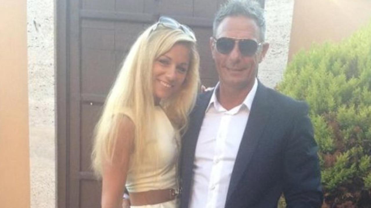British businessman Andrew Bush and Mayka Kukucova who fatally shot her former boyfriend. Picture: Instagram