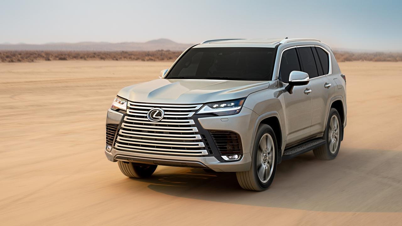 The new Lexus LX has a bold look.