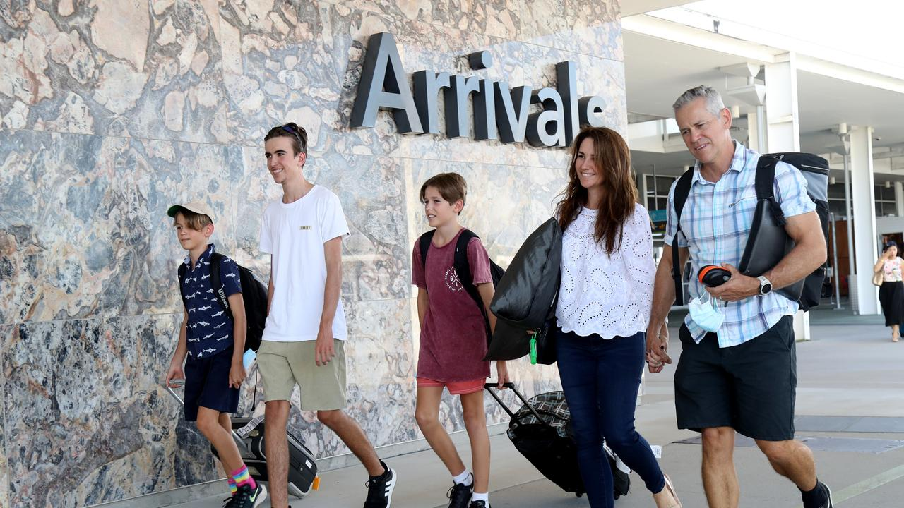Overseas travel will be on the cards for the whole of Australia when we hit 80 per cent. Picture: Stewart McLean
