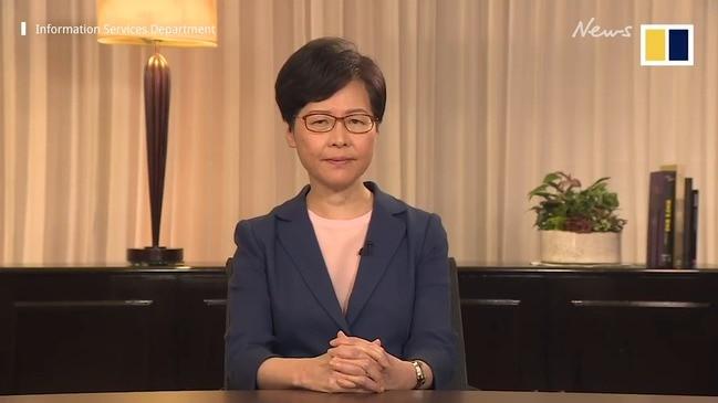 Hong Kong withdraws extradition bill