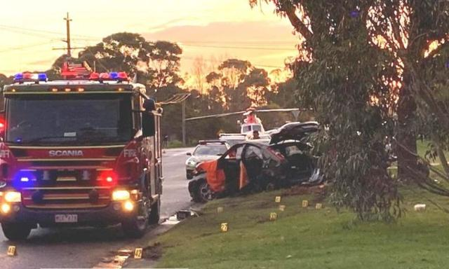 Three children injured after car crash in Wonthaggi