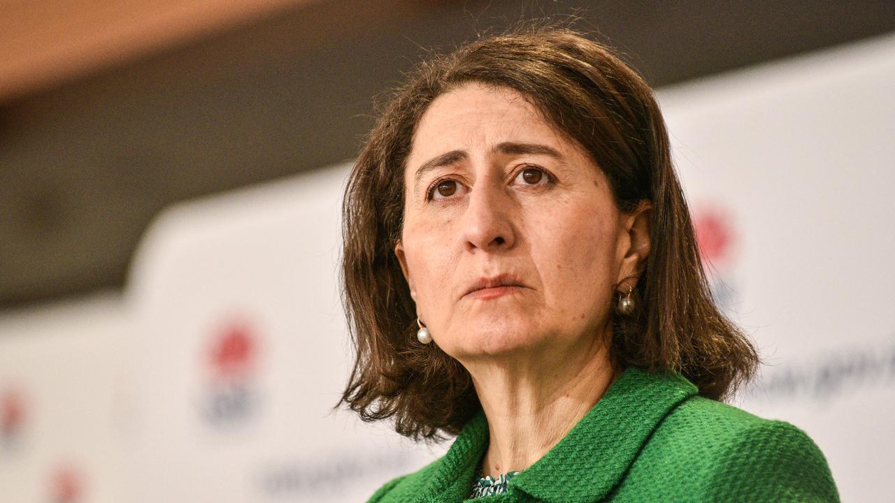 NSW Premier Gladys Berejiklian announced a statewide lockdown last weekend. Picture: NCA NewsWire/Flavio Brancaleone
