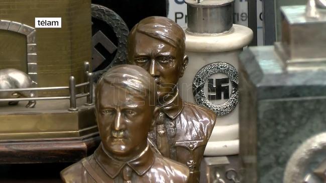 Treasure trove of Nazi artefacts seized in Argentina