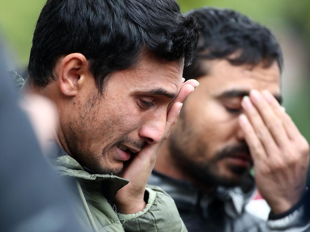 We have entered a dark new age of global terrorism, and now white Europeans are the typical perpetrators, Muslims the victims. Picture: Fiona Goodall/Getty Images