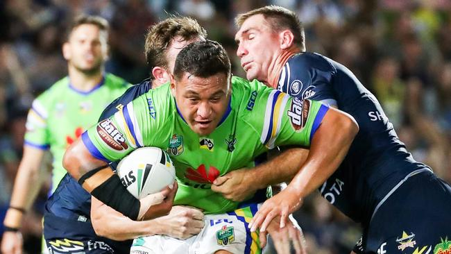 North Queensland are in free fall after the Raiders earned the upset.