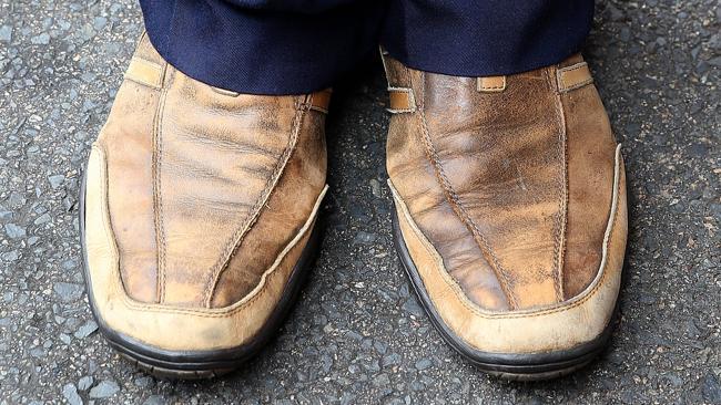 Taxi Driver Brown Shoe Fine