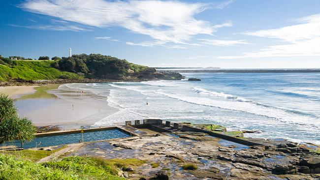 Yamba is just three hours south of Brisbane.