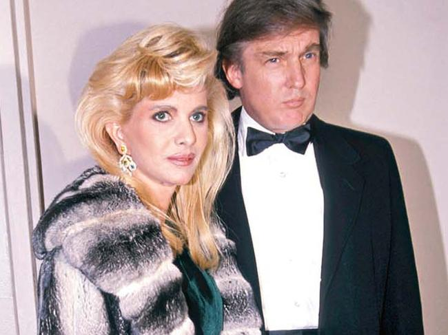 Ivana Trump predicted that she and Donald would attain the renown of the Rockefeller family. Picture: Getty Images